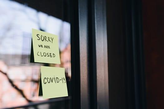 Lokal zamknięty z powodu COVID19